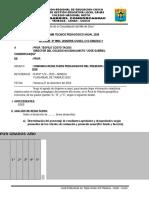 Informe Tecnico Pedagogico de Religion Lourdes