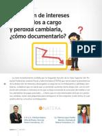 MEX Deduccion de Int y Perdida Cambiaria Puntos Finos 241