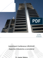 Uruguay Tratamiento Tributario Inversiones Uruguay