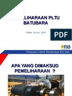 4. Pemeliharaan PLTU Batubara
