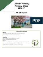 Nursery Handbook 16-17