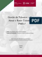 Gestão de Talentos - Como atrair e reter talentos em PMEs?