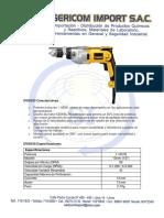 Ficha Tecnica Dwd520 - Dewalt