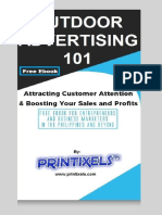 Outdoor Advertising 101 - Free eBook by Printixels