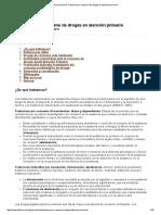 Guía Clínica de Trastorno Por Consumo de Drogas en Atención Primaria