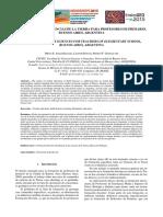 Arias Regalía, Bonan, Gonçalves (EnsinoGEO 2015) - Enseñanza de Las Ciencias de La Tierra Para Profesores de Primario, Buenos Aires, Argentina