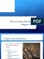 magna carta 100 years war church ppt compressed