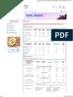 BSNL Plans Prepaid