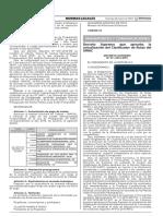 12 DECRETO SUPREMO N°11-2016-MTC (APRUEBAN LA ACTUALIZACION DEL CLASIFICADOR DE RUTAS DEL SINAC).pdf