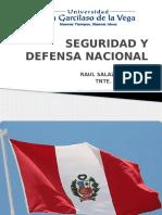 2da Parte Seguridad y Defensa Nacional