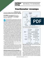 Main Fractionator Revamp