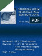 Gambaran Umum Resusitasi Bbl