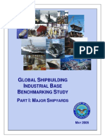FMI Global Industrial Benchmarking Major Yards Navy Rpt
