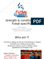 FUTSALStrenght and Conditioning
