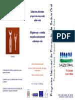 82109 Fio Dentario Programa Nacional de Promocao Da Saude Oral