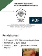 Laporan Kasus Pneumotoraks PPT