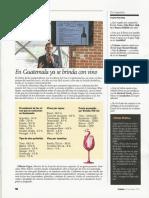 Antociano Wine Report en la Revista Crónica