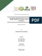 Analisis Del Beneficiado de Cacao en Fincas de Cacao
