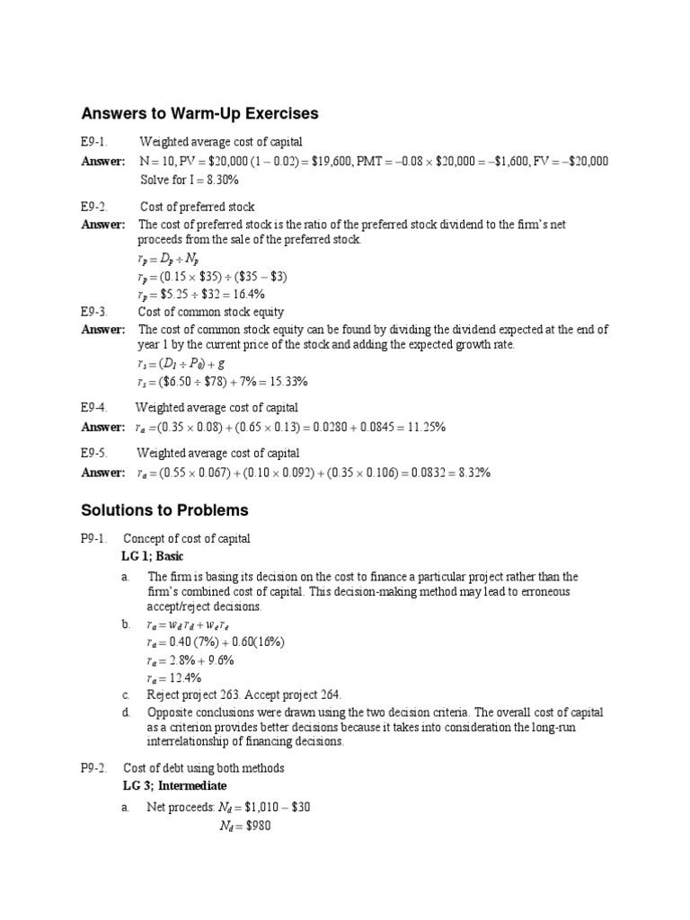 Solved: chapter 2 problem 11rq solution | principles of managerial. Gitman  principles of managerial finance ...