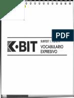 K-bit Vocabulario Expresivo