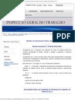 Decreto Executivo Nº 21_98 de 30 de Abril - Regulamento Geral Das CPAT
