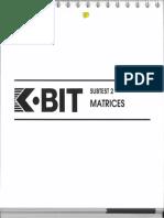 K Bit Matrices