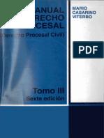 Casarino- Manual de Derecho Procesal Civil Tomo III