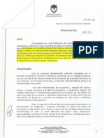 Resolución 0025 Esfuerzo Compartido Para Mejoramiento Barrial