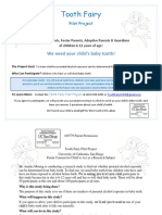 FASD Tooth Fairy Pilot Project