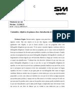 Teórico Nº5 Latín I - Pégolo 2013
