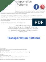 Transportation Patterns