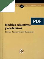 Modelos Educativos y Academicos