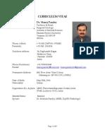 Dr. Manoj Pandey - Oncology BHU