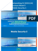 Widyatama.lecture.applied Networking.iv Week06 Mobile Security 2