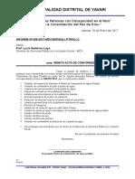 Informe Conformidad Aquiles - Enero
