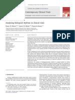 Analyzing Biological Rhythms in Clinical Trials