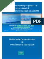 Widyatama.lecture.applied Networking.iv Week 08 Multimedia+IMS