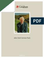 John Stott Sermon Pack