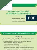 Aula 9 - Introducao Ao Sistema de Informacao Geografica - Sig