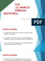 Codigo Rojo en Obstetricia