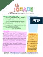 newslette 2-6-17