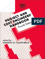 Project and Cost Engineers Handbook