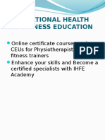 Ppt - Ihfe Academy