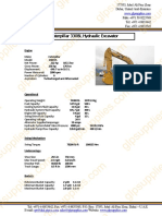 Datasheet for Caterpillar 330BL