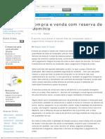 Compra e Venda Com Reserva de Domínio - Artigo Jurídico - DireitoNet
