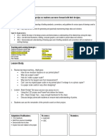 lesson plan 6 space planning