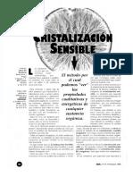Cristalización Sensible