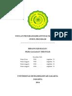 Kerangka Proposal PKM GT 2014