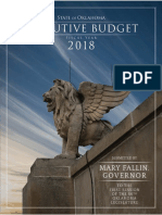 Gov. Fallin FY 2018 Proposed Executive Budget