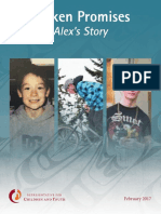 BC Representative for Children and Youth - Broken Promises - Alex's story